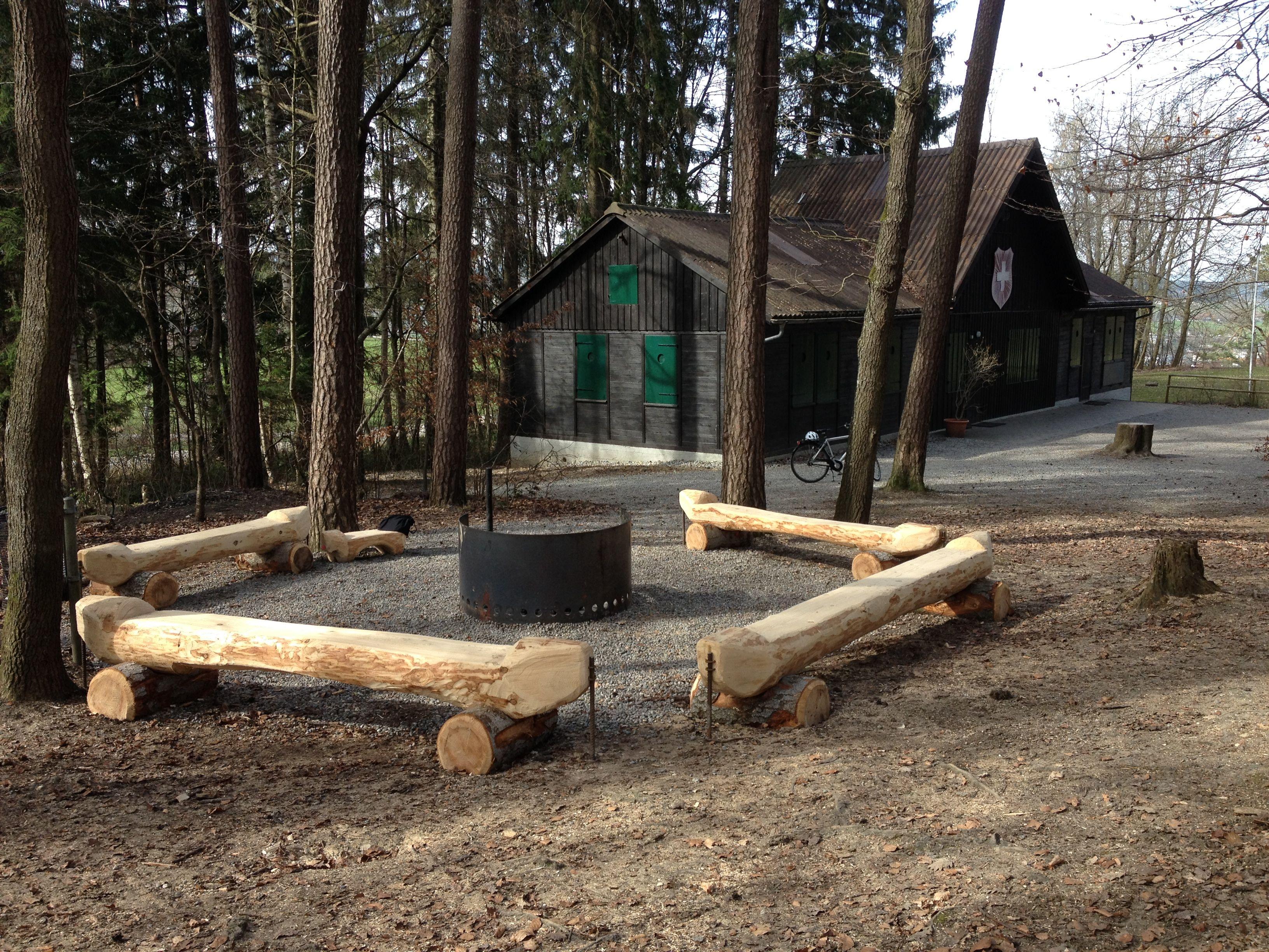 Feuerstelle Waldschenke