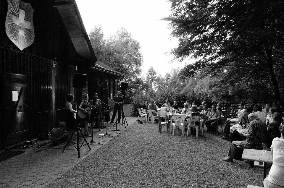 """""""Croque Monsieur am Waldschenke Sommerfest 2015"""